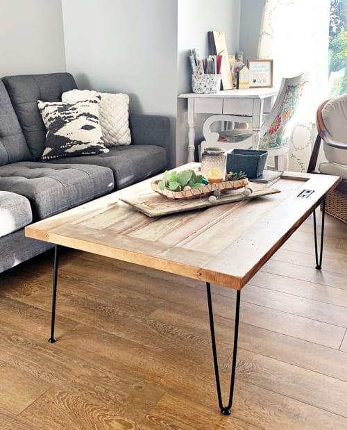 Tables by Dana Jones of Selah Creative Company seen at Selah Creative Company, Gearhart - Custom Coffee Table