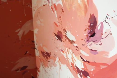 Murals by Christina Kwan seen at The Sentimentalist, Atlanta - Abstract mural