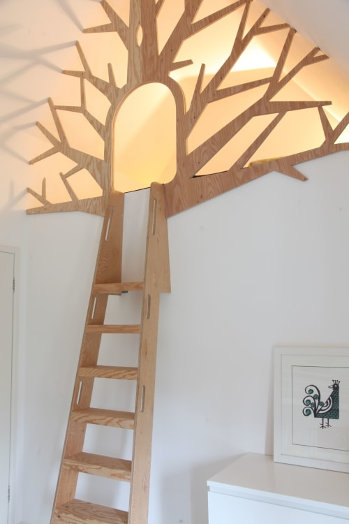 Bespoke children's tree den   Furniture by Design by Timber