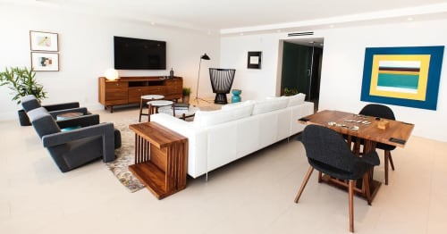 Furniture by Labrica seen at Private Residence, Pompano Beach - Wood Furnitures