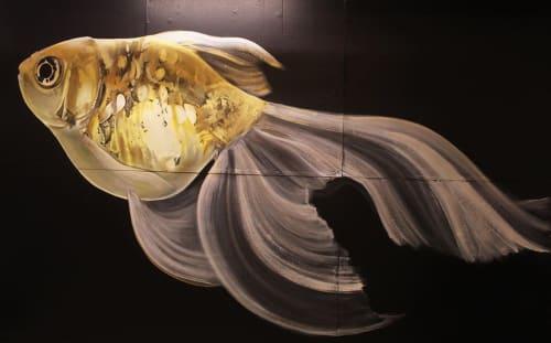 The Chaotic Aquatic (Ariel Parrow) - Murals and Art