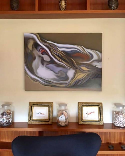 Paintings by Carlos Lopez Art seen at Private Residence, New Orleans - The Matriarch