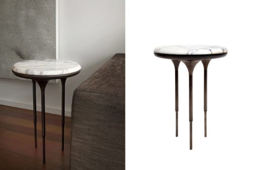 Tables by Lumifer by Javier Robles seen at Private Residence, New York - NYX Side Tables