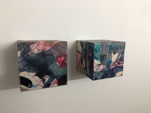 Paintings by Kayo Shido seen at Private Residence, Widen - Faults 4