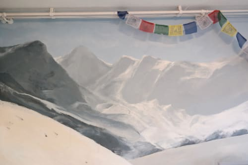 Murals by Laura9, Laura Tietjens seen at Private Residence, Amsterdam - Himalaya