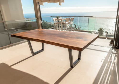 Tables by Kristopher Kirkpatrick seen at Private Residence, Laguna Beach - Laguna Table