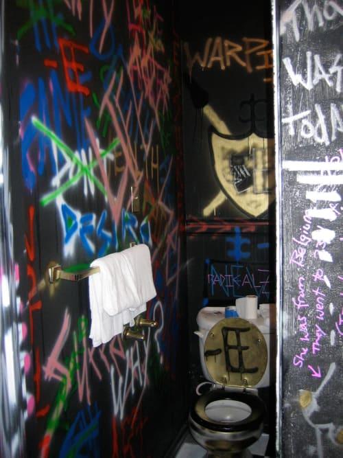Murals by Brian Ermanski seen at Hotel Des Arts, San Francisco - Room 506