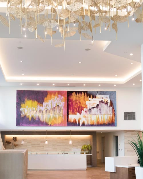Paintings by Bryan Ricci seen at Los Angeles, Los Angeles - Abstract Paintings