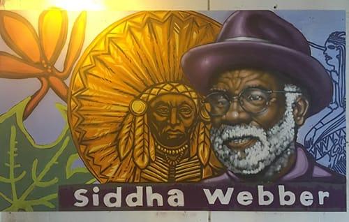 Street Murals by Rahmaan Statik Barnes seen at East 64th Street & South Dorchester Avenue, Chicago - Siddha Webber