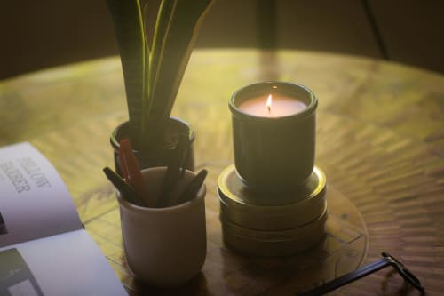 Lighting by Winford Candles seen at Private Residence, Santa Monica - Winford Candles Collection