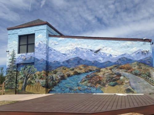 Michele Brown - Murals and Street Murals