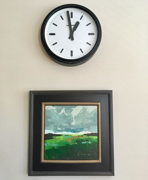 Paintings by Christopher Long seen at Private Residence, Ladera Ranch - Oregon VIII