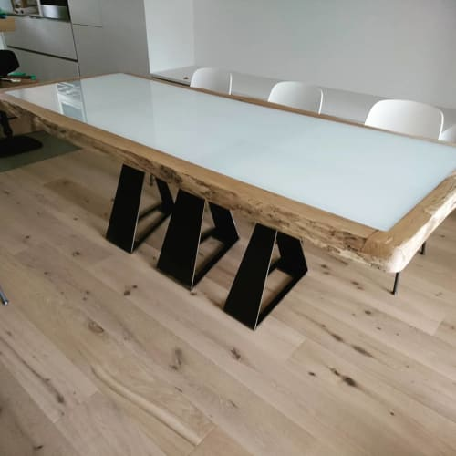 Tables by PRIMUS DESIGNS seen at Private Residence, Mengeš - Table
