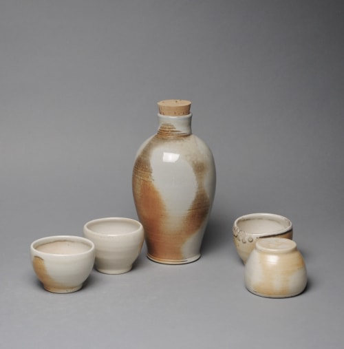 Tableware by John McCoy Pottery seen at Private Residence, West Palm Beach - Sake Whiskey Set