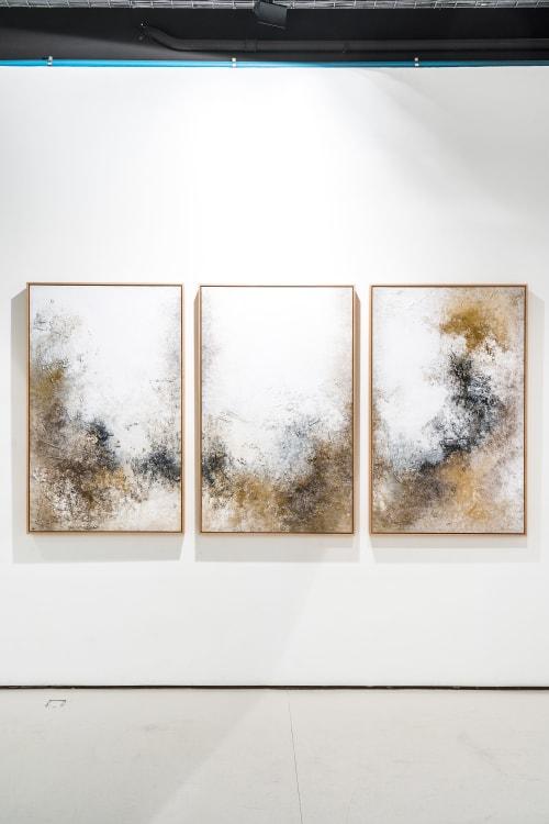 Paintings by Teresa J Cuevas seen at Calle del Monte Esquinza, 8, Madrid - EXHIBITION  -  IN-CONTRAST