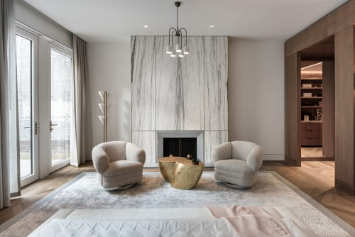 Interior Design by Michael K Chen Architecture seen at Private Residence, New York - Upper East Side Townhouse