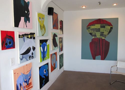 Hilary Baker - Paintings and Art Curation