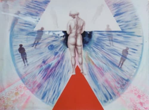Paintings by Tibor Hargitai Art seen at Private Residence, Niagara-on-the-Lake - The death of virginity 1995