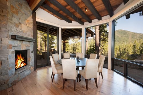 Interior Design by Aspen Leaf Interiors by Marcio Decker seen at Private Residence, Truckee, Truckee - Inner Balance
