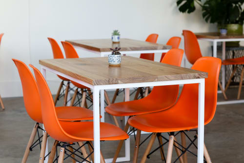 Furniture by GoodWood seen at The Daily Beet, New Orleans - The Daily Beet | Tables