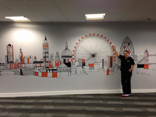 Joanna Perry Mural Artist UK - Murals and Art