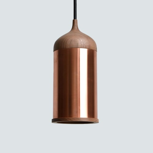 Lamps by Steven Banken seen at Private Residence, Amsterdam - Copper Lamp