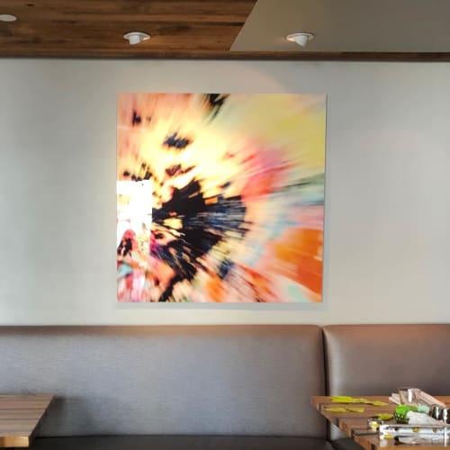 Paintings by Marine Gueguen Strage@ seen at The Lodge At Tiburon, Tiburon - Renaissance