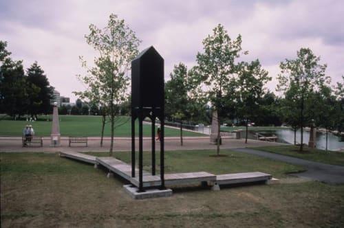 Public Sculptures by John Zylstra seen at Bellevue, Bellevue - Sentinel
