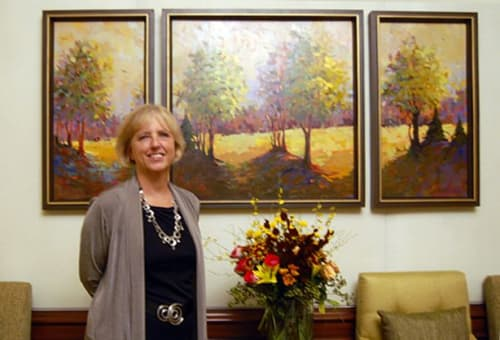 Art Curation by Artists Circle Fine Art seen at The Ritz-Carlton, Tysons Corner, McLean - Art Curation