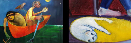 Saren Dobkins - Paintings and Art