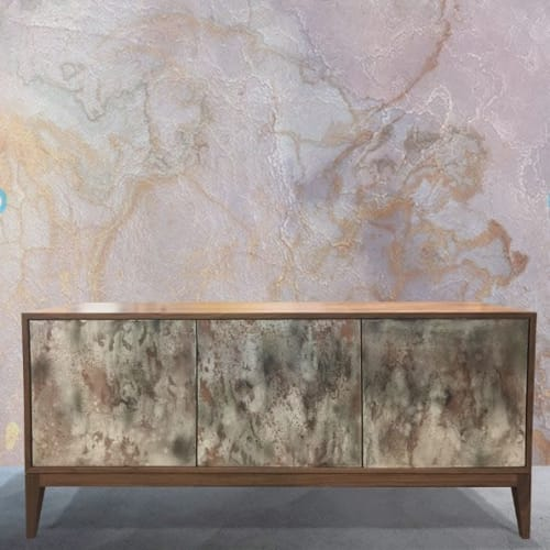 Furniture by Ercole seen at Ercole Home, New York - Milano Mystic 3-Door Buffet