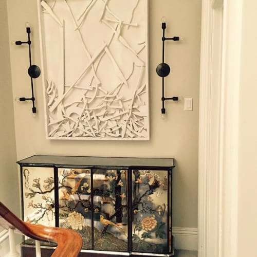 Sconces by New York Vintage Lighting at Private Residence, Brooklyn - Custom Sconces