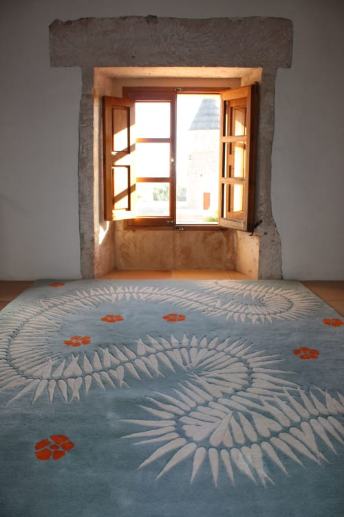 Rugs by Naja Utzon Popov seen at Private Residence - Botanica Akini