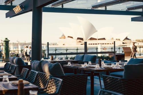 Interior Design by Design Partnership Australia seen at 6HEAD, The Rocks - 6 Head Restaurant, The Rocks, Sydney