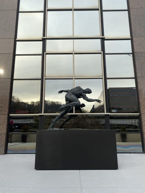 Public Sculptures by Joshua Koffman seen at 300 Four Falls Corporate Center, Gladwyne - Run
