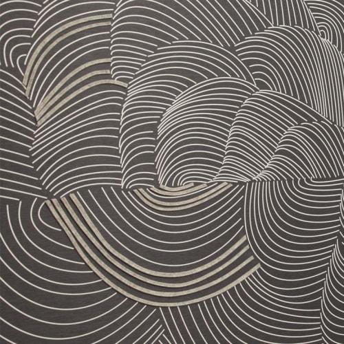 Wallpaper by Jill Malek Wallpaper - Cocoon | Dimensional Felt