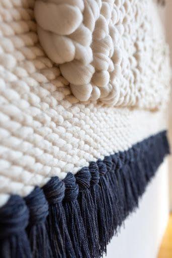 Wall Hangings by Keyaiira   leather + fiber seen at Artist Studio, Santa Rosa - Peanut