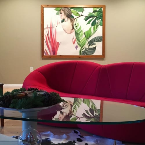 Paintings by Roan Victor seen at Private Residence, San Jose - Painting