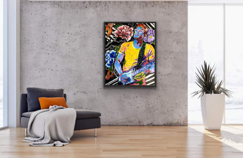 Paintings by Hannah Delaney Art seen at Private Residence, Charlotte - MAYER