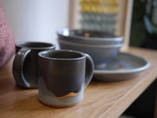Cups by Sven Ceramics seen at Wescover Gallery at West Coast Craft SF 2019, San Francisco - 12oz Starry Night Mug