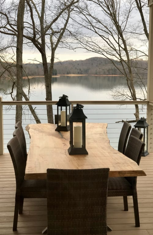 Tables by Urbn Timber seen at Norris Lake - Ambrosia Maple at the Lake