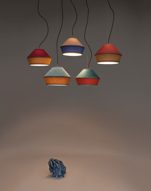 Pendants by SERVOMUTO seen at CentreVille Hotel and Experiences, Podgorica - Meringa Ø35