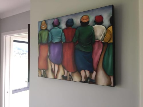 Paintings by Lauryne Hart seen at Private Residence, Oxford - Together