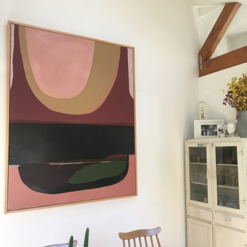 Paintings by Sara Marlowe Hall at Private Residence, Los Angeles - 29 Palms