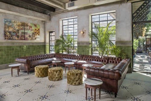 Interior Design by COCOCO Home seen at 615 S Lamar Blvd, Austin - Eberly Restaurant