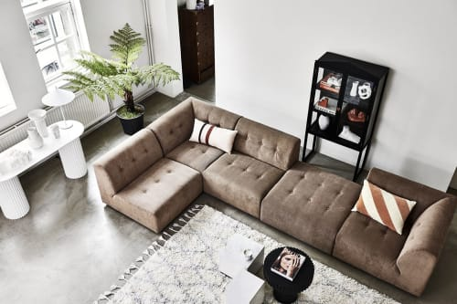 Couches & Sofas by HK Living USA seen at Private Residence, New York - Element couch