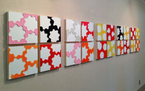 Niho Kozuru - Sculptures and Wall Treatments