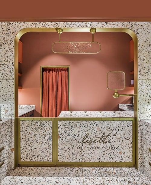 Lisette, Bakeries, Interior Design