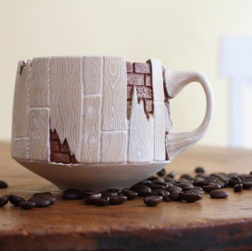 Cups by Nara Burgess seen at Private Residence, Falls Church - Mug (014-a)