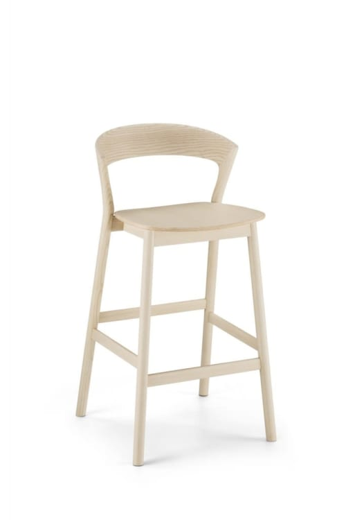 Pleasant Upholstery Wood Bar Stool Chair By Gustavo Bittencourt Seen Cjindustries Chair Design For Home Cjindustriesco